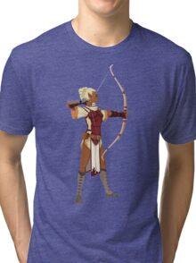 Female RPG Archer Tri-blend T-Shirt