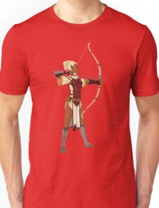 Female RPG Archer Unisex T-Shirt