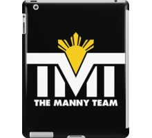 TMT The Manny Pacquiao Team by AiReal Apparel iPad Case/Skin