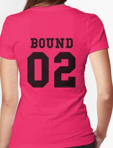 Bound 02 PYREX (black text) Womens Fitted T-Shirt