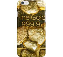 pure gold iPhone Case/Skin