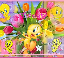 tweety bird by CINDYLOU951