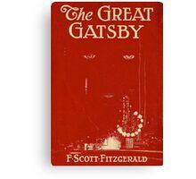 Great gatsby Canvas Print