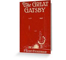 Great gatsby Greeting Card