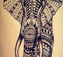 Tattooed Elephant by mikelpegel