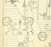 The Buckle My Shoe Picture Book by Walter Crane 1910 12 - One Through Ten Inner Cover by wetdryvac