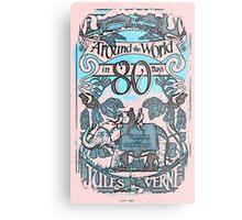 Jules Verne Metal Print