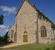 Sandstone Church by reflector