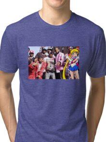 Dipset x Sailor Moon Tri-blend T-Shirt