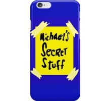 Michael's Secret Stuff - Space Jam Bottle  iPhone Case/Skin