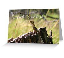 Far North Queensland Postcard Greeting Card