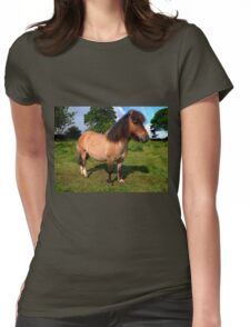 'Bertie' the pony Womens Fitted T-Shirt