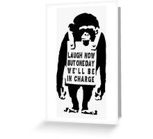 Rise of an Ape Greeting Card