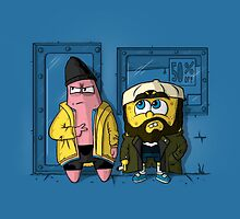 Pat and Silent Bob by IdeasConPatatas