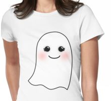 Horrifying Cute Ghost - Girl Womens Fitted T-Shirt