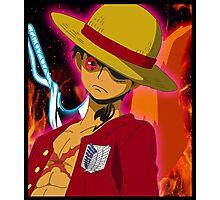 Anime Mashup Photographic Print