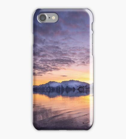 Valdez Sunset, Alaska iPhone Case/Skin