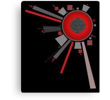 Digital Lens RED Canvas Print