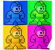 Mega Man Pop Art Poster