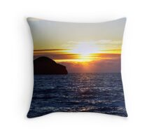 Sunset over gull rock 2 Throw Pillow