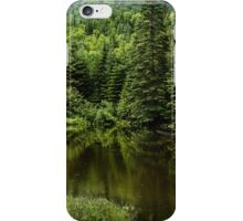 Forest Lake - Charlevoix, Quebec, Canada iPhone Case/Skin
