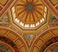The Dome inside Melbourne's Exhibition Buildings  by Christopher Clarke