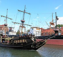 17th-century Galleon Lew  by PhotoStock-Isra