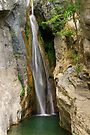 Corsica waterfall by Patrick Morand