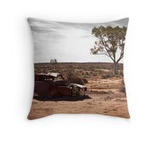 Outback Peace Throw Pillow