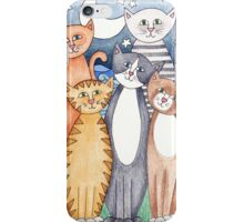 Happy Cats and Kittens iPhone Case/Skin
