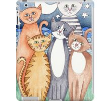 Happy Cats and Kittens iPad Case/Skin