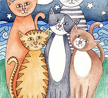 Happy Cats and Kittens by inwhitstable