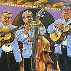 Trio in Old San Diego by Reynaldo