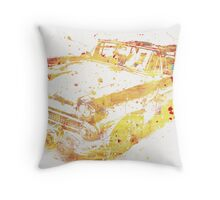 Cadillac Colorful Throw Pillow