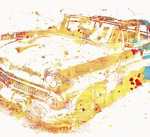 Cadillac Colorful by Inechifor7