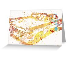 Cadillac Colorful Greeting Card