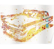 Cadillac Colorful Poster