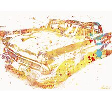 Cadillac Colorful Photographic Print