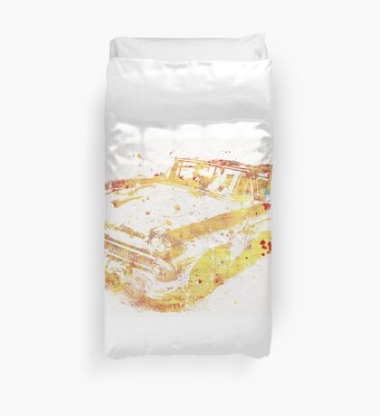 Cadillac Colorful Duvet Cover