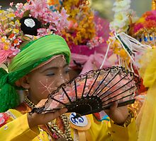 Novice Monk Ceremony by Lass With a Camera
