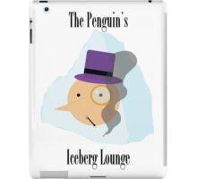 The Penguin's Iceberg Lounge iPad Case/Skin
