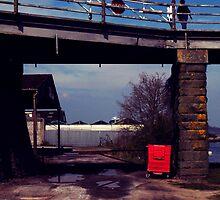 Swing bridge by Pimhole
