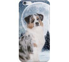 Blue Merle Australian Shepherd iPhone Case/Skin