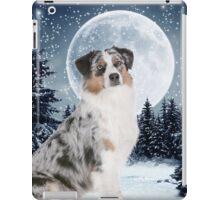Blue Merle Australian Shepherd iPad Case/Skin