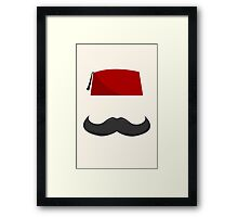 Man with a Fez Framed Print