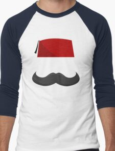Man with a Fez Men's Baseball ¾ T-Shirt