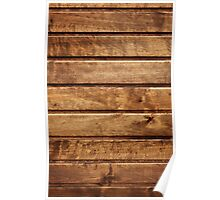 Wooden fence (1) Poster