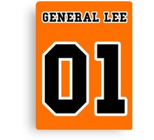 General Lee 01 Canvas Print
