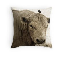 """What ya Doing?"" Throw Pillow"