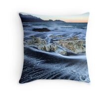 Mayan Blocks at Dusk Throw Pillow